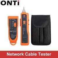 Onti rj11 rj45 cat5 cat6 rastreador de fio telefone toner ethernet lan cabo de rede testador detector linha localizador