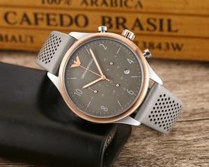 Luxury Armani- High Quality Quartz Famous Top Watches Mens Womens Watch Steel Band Wrist Men Sports Watch Women 9826  Orders