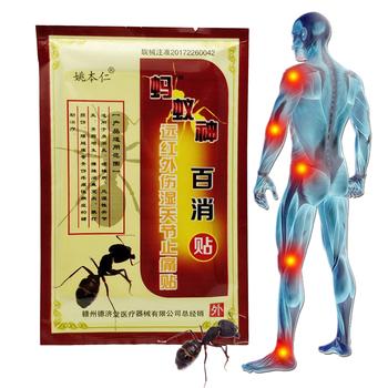 8 sztuk chiński Plaster medyczny Ant Detox medycyny opieki zdrowotnej dla do masażu mięśni relaks przeciwbólowe Capsicum ziół tynku tanie i dobre opinie SMFCARE D1005 Ciało Massage Relaxation 8pcs bag