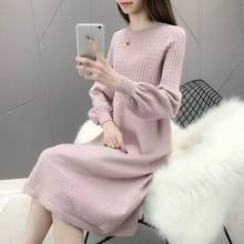 Thick Warm Women o-neck pullover 2019 Winter Women Sweaters And Pullovers Knit Long Sleeve Sweater Female Jumper Tops sweater(China)