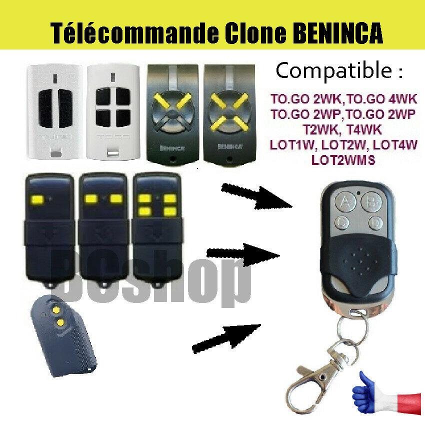 Beninca 4/K Hand-Held Remote 433MHz To-Go 4VA