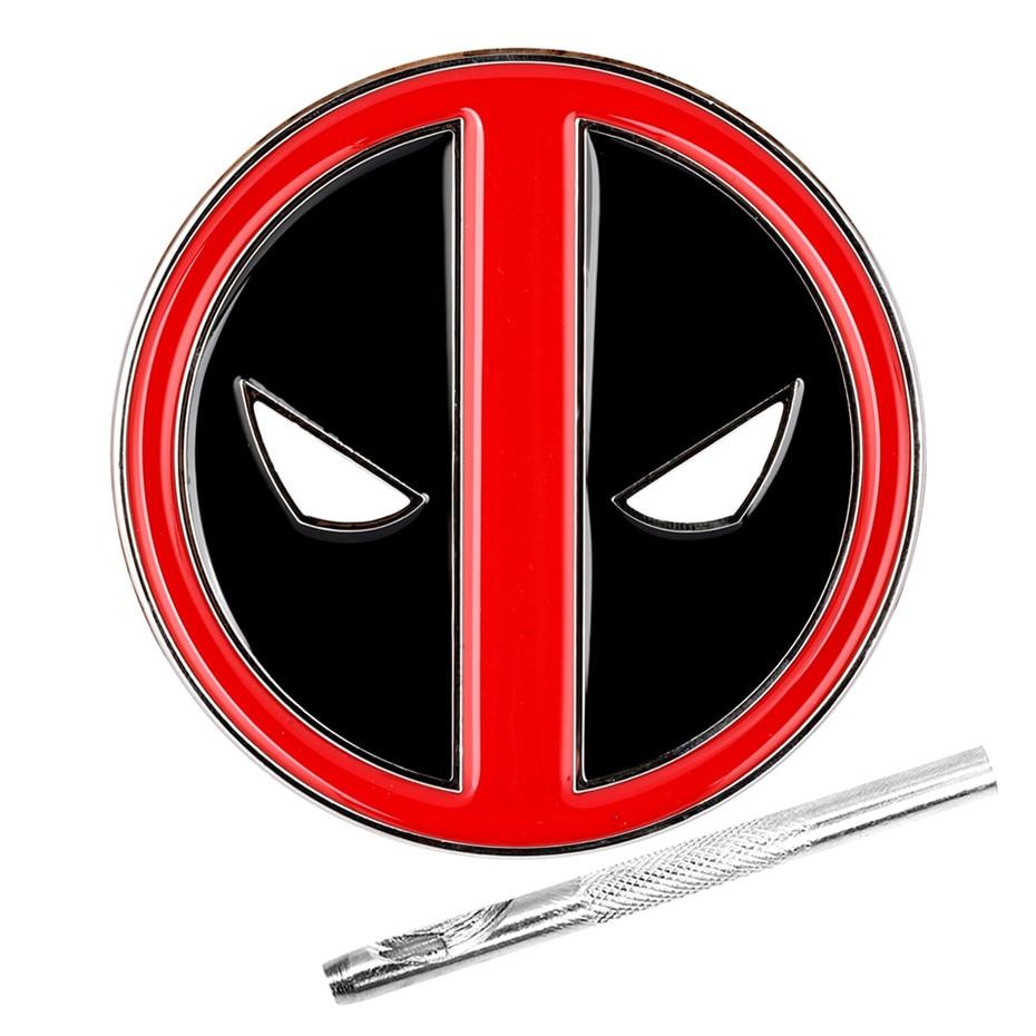 Deadpool Design Metal Belt Buckle Stylish Zinc Alloy Belt Buckles Replacement Item With Belt Punch Tool