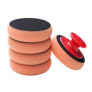 5Pcs/Set Car Wash Wax Polish Pad New Polishing Pad 3.93Inch Sponge Car Cleaning Cloth Microfiber Applicator Pads
