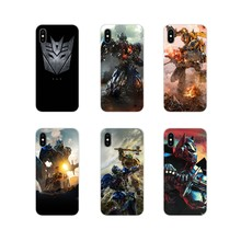 Transformers photo design For ZTE Blade A5 2019 V6 V7 V8 Lite V9 V10 A 452 510 512 520 530 602 610 910 TPU Transparent Skin Case(China)