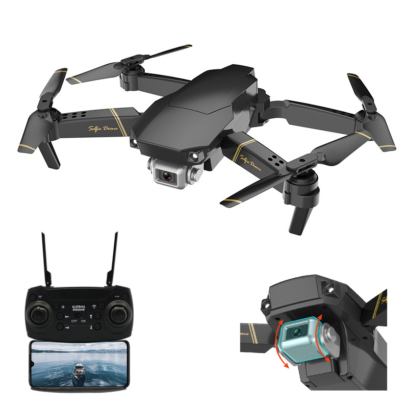 Global drone GD89 WIFI FPV With Wide Angle HD Camera High Hold Mode Foldable Arm RC Quadcopter RTF vs GW89 image