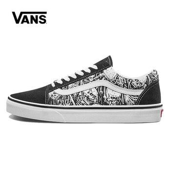 Vans Old Skool Men Shoes Original Sneakers Unisex Vans Men Shoes Skateboarding VN0A4BV5V8V original new arrival vans x peanuts men s