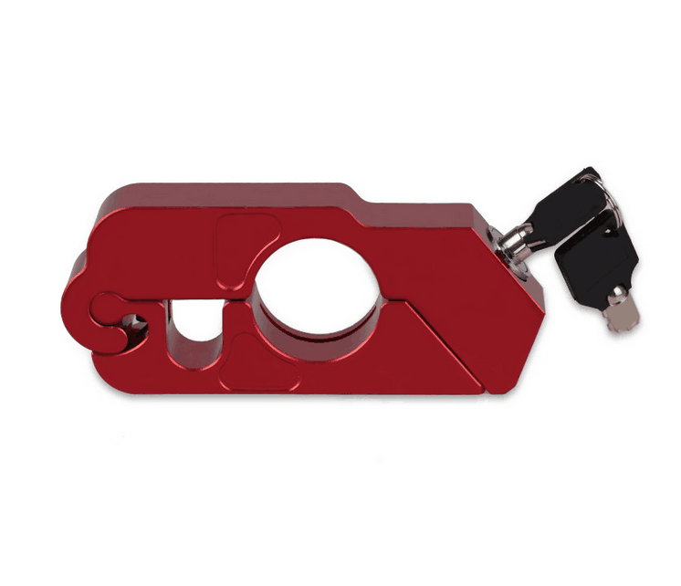 Handlebar Lock Brake Lock Record Theft Motorcycle Motorcycle Lock  With Plastics