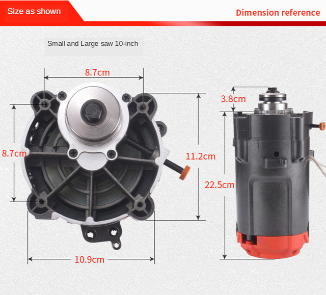 Dust-free composite saw motor woodworking home improvement sliding table saw motor assembly multifunctional folding precision sl 5