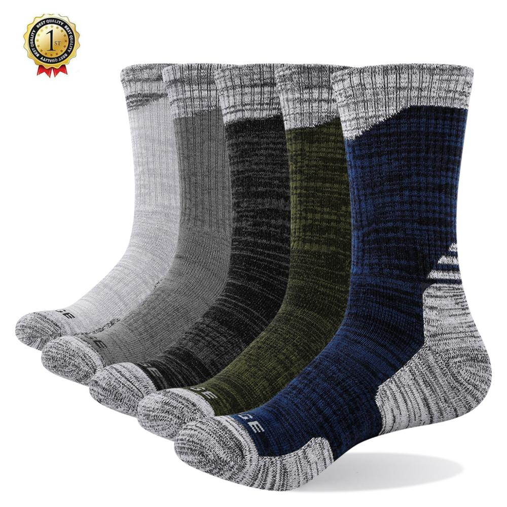 5 Pairs Womens Thicken Thermal Wool Cashmere Casual Sports Winter Hiking Socks