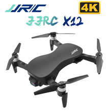 JJRC X12 4K Brushless Motor RC Drone WIFI 1KM FPV HD Camera Anti Shake 3 Axis Gi