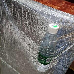 Image 3 - Selbst adhesive Aluminium Folie Blase Wärmedämmung Film Doppel Gesicht Isolierung Material für Dach und Sonne Zimmer 3sqm/lot