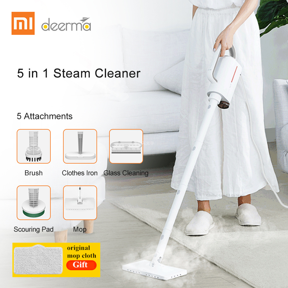 Xiaomi Deerma DEM ZQ600 Vacuum Cleaner Multifunction Household Vacuum Cleaners Aspirador 5 Attachments Mold From Xiaomi Youpin