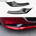 Передняя угловая противотуманная фара  защита Бампера  защита от трения  противотуманная фара  хромированная блестка для Mazda 3 Axela  2019  2020
