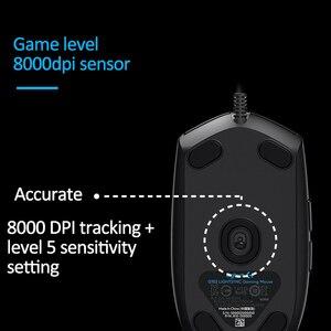 Image 2 - Logitech G102 LIGHTSYNC 2nd Gen przewodowa mysz do gier mysz optyczna do gier wsparcie pulpit/laptopa windows 10/8/7 2Gen mysz optyczna
