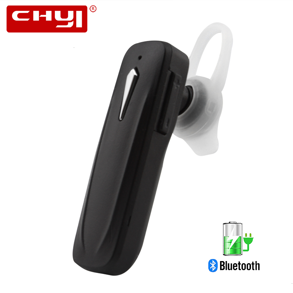 CHYI Mini Bluetooth V4.2 Headphone Stereo Wireless Headset Earphone Single Handfree With Microphone For Huawei Xiaomi Iphone