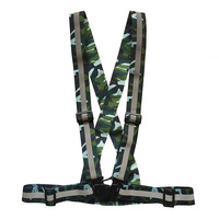 Camouflage Reflective Gallus Elastic Band Reflective Vest Quality Manufacturers Currently Available