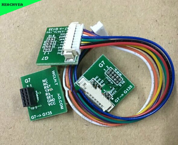 La placa de interruptor G7 con cable para sensor láser PMS7003 PM2.5 partículas