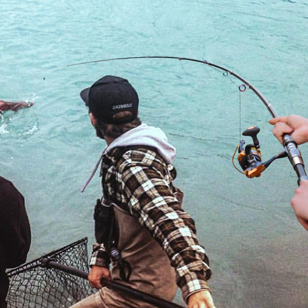 Image 5 - Sougayilang 2.1 3.0m Superhard Power Hand Telescopic Fishing Rod Carp Lure Sea Spinning Carbon Fishing Rod Fishing Tackle Pescatelescopic fishing rodfishing rodrod carp -