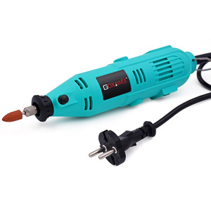 Image 2 - GOXAWEE elektrikli matkap Mini matkap döner aracı değirmeni gravür kalem elektrikli döner aracı Dremel taşlama makinesi güç araçları