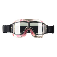 NEW WWII Vintage motorcycle gafas motocross moto goggles Scooter For Harley Goggle Glasses Pilot Cruiser