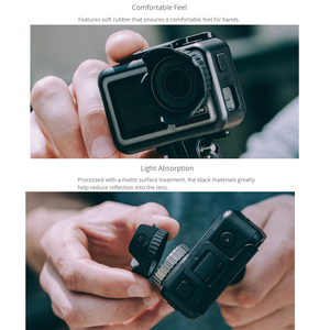 Image 4 - PGYTECH Camera Sunshade Protective Cover Cap PGYTECH Lens Hood Compatible With DJI Osmo Action Gimbal Camera Accessories