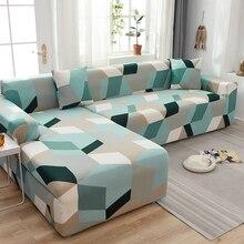 L kształt sofa obejmuje elastan do salonu szary narzuty rozciągliwy na sofę pokrowiec na krzesło narożnik sofa narzuta na sofę elastyczna sofa funda