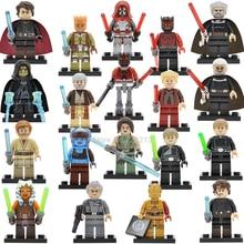 Один Звездные войны Moff фигурка Дарт Вейдер мол Сидиус люк Aayla Secura Palpatine Darth Sidious строительные блоки игрушка Legoing