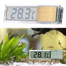 Sticker Meter Aquarium-Accessories Temperature-Tester Fish-Tank Water LCD 2-Colors