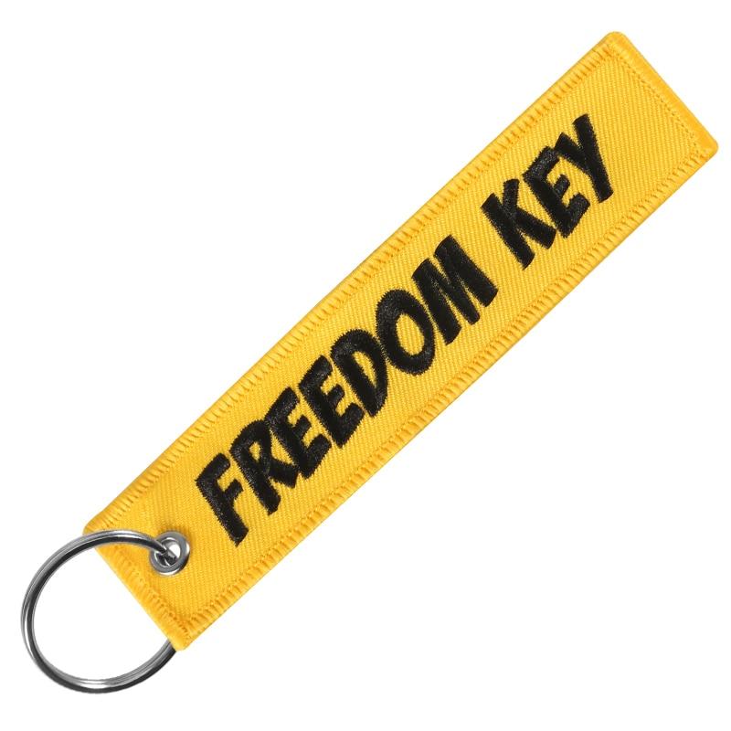 freedom keychain yellow (1)