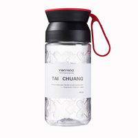 Dull Polish Sports Bottle 2019 New Style Plastic Students Portable Bottle Outdoor Sports Hand Sports Bottle Plastic Water Bottle Egg Boilers    -