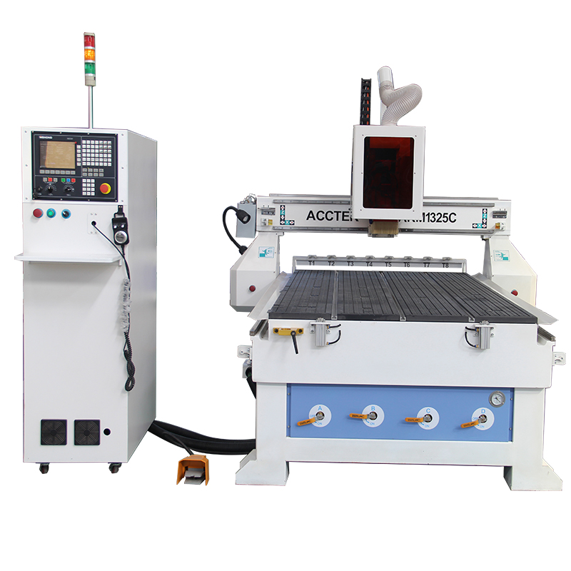ACCTEK 3 Axis 1325 Cnc Router Engraving Machine Woodworking Machinery For Wood Stone Tombstone Carving Machine