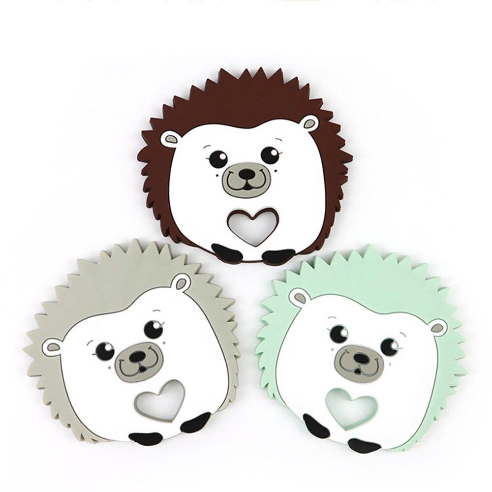 Baby Teether Cartoon Cute Stick Ice Cream Silicone Bite Music Rubber Molar Toys