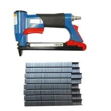 1/2inch Pneumatic Air Stapler Nailer Fine Stapler Tool for Furniture Nailer Tool 4-16mm Pneumatic Air Power Tool