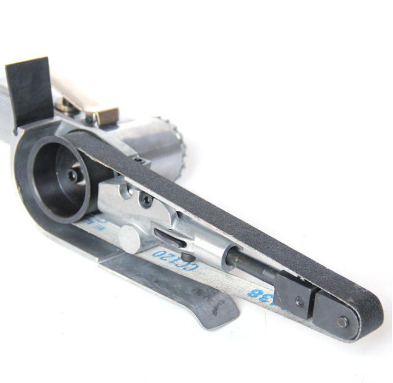 15000 об/мин 20 мм пневматическая ленточная шлифовальная машина шлифовальные инструменты Мини Ручной ленточный шлифовальный станок металлический нож точилка для кромок