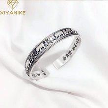 XIYANIKE – Bracelet éléphant Vintage en argent Sterling 925 pour femmes, bijoux créatifs, Style National, cadeau d'anniversaire