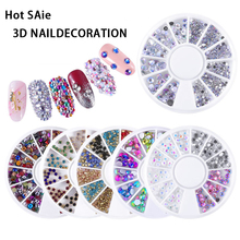 AY 2020 New Mixed Color Nail High Quality Rhinestones Stones Makeup Beauty Decor