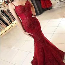 Robe de Soiree 2019 Spaghetti Strap Backless Pageant Formal