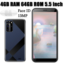 4g lte 8a desbloqueado 4g ram 64g rom 5.5 polegada versão global android 7.0 face id telefones celulares 5mp + 13mp smartphones wifi celulares