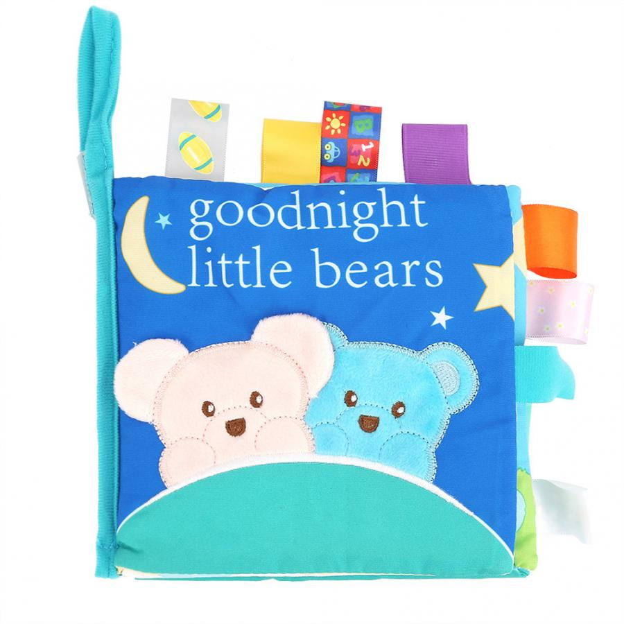 My Quiet Book Baby Toddler Colorful Tearproof 3D Activity Game Cloth Book