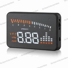 Цифровой Автомобильный спидометр сенсорный экран 3 дюйма для