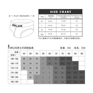 Image 4 - 7pcs/lot 2020 ORlvs Mens underwear Brand Sexy Underwear Men Jockstrap Briefs Men Bikini slip homme Gay Men Underwear Male OR199
