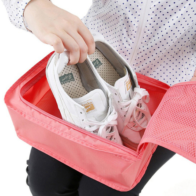 Foldable Travel Shoe Storage Portable Waterproof Shoes Bag