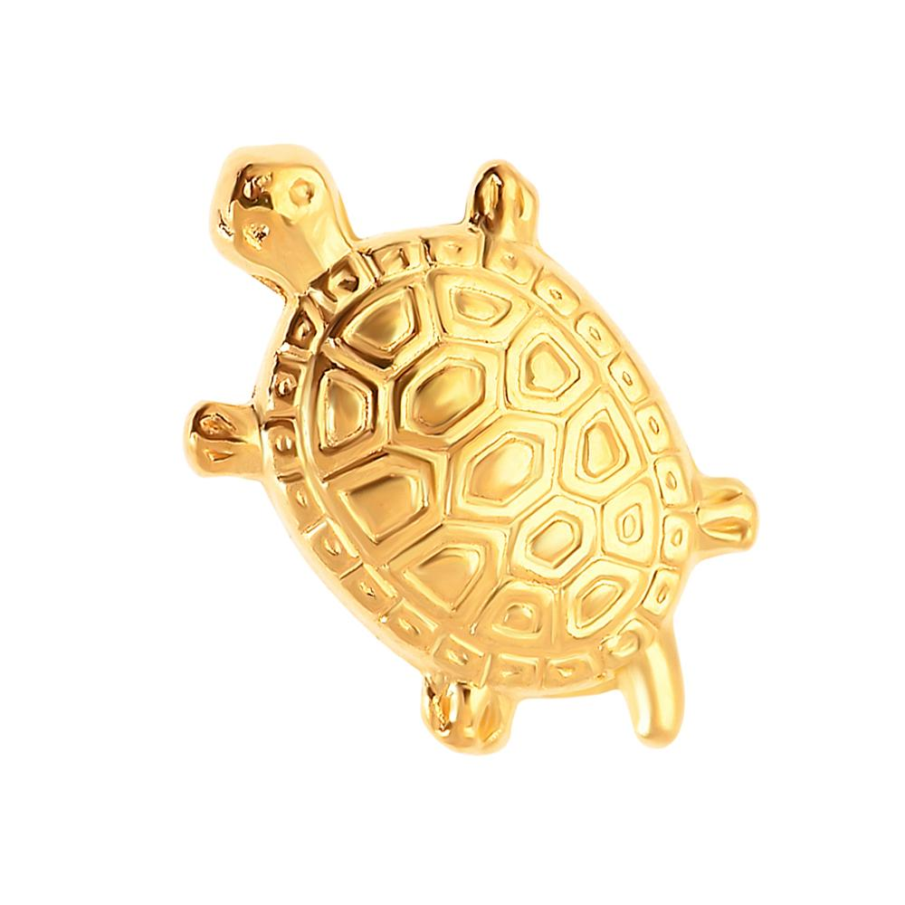 Japanese Cute Money Turtle Asakusa Temple Small Golden Tortoise Guarding Praying For Fortune Home Furnishing Jewelry Findings