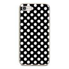 gold black white Polka Dots design Silicone Phone Cover Bag For Huawei Mate Honor 4C 5C 5X 6X 7 7A 7C 8 9 10 8C 8X 20 Lite Pro(China)
