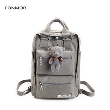 Fashion brand backpack teenage backpacks for girls school bag Backpacks Women Double Zipper Large Capacity Design Square School zipper large capacity school bags for girls brand women backpack cheap shoulder bag wholesale kids backpacks fashion