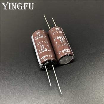 10pcs 35V 120uF 35V NCC Nippon SXE 10x12.5mm Low ESR PC Motherboard Capacitor
