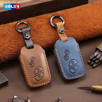 Black TIANHES Genuine Leather Key Chain Suit for Lexus is300 es350 rx 350 ls460 gx460 ls 430 ls 460 nx f nx200t RCF Valet is250 rx350 Car Logo Keychain Keyring Family Present,Accessories