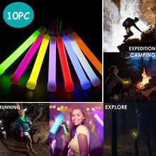 10pc Novelty Lighting Party Glow Sticks Bulk Neon Party Favors 6 Inch in The Dark Supplies 15ML Outdoor Glowing Background cheap Holiday ISHOWTIENDA Fluorescent Illuminae Light 90-260V NONE