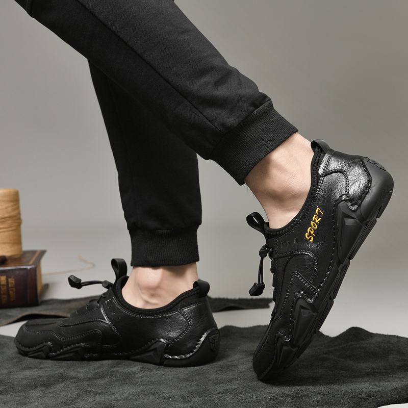 Primavera outono sapatos casuais masculinos de alta