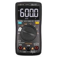 Multímetro Digital RM101 retroiluminación de 6000 cuentas voltímetro amperímetro de CA/CC medidor de voltaje portátil Ohm RICHMETERS 098/100/109/111